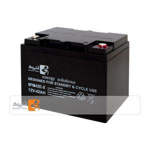 باتری 12 ولت 42 آمپر فناپ تک